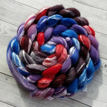 Rainbow Hematite, Merino/Bamboo Top, 5 ounce, dyed to order