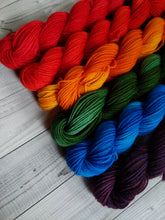 Rainbow #2, Gemstones Sock