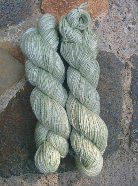 Sage, Worsted Weight Merino,