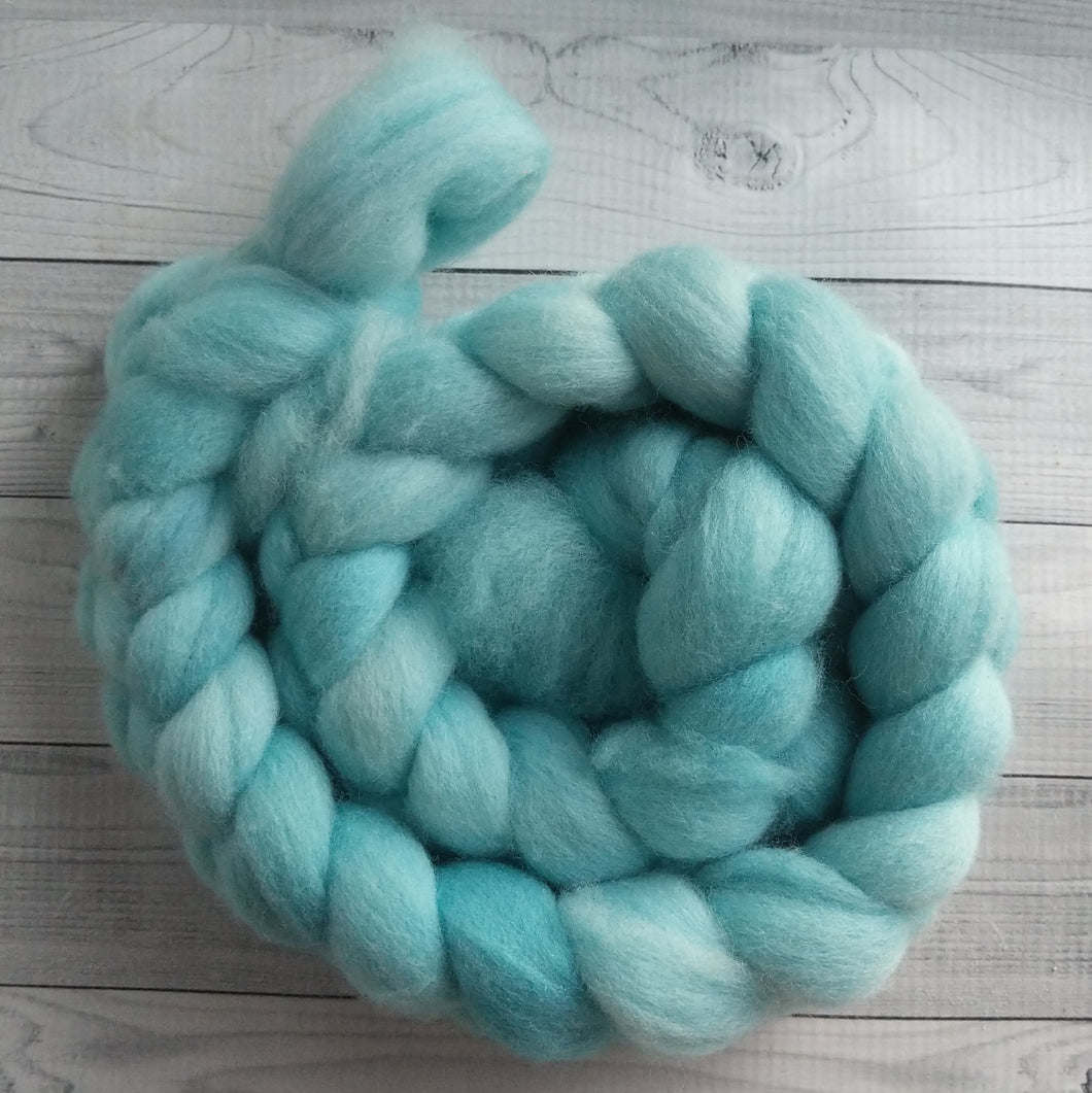 Summer Mint, Polwarth Combed Top
