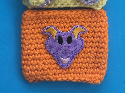 Purple Dragon Coffee Cozy