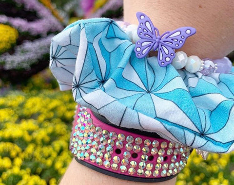 Blue and Silver Grand and Miraculous Scrunchie