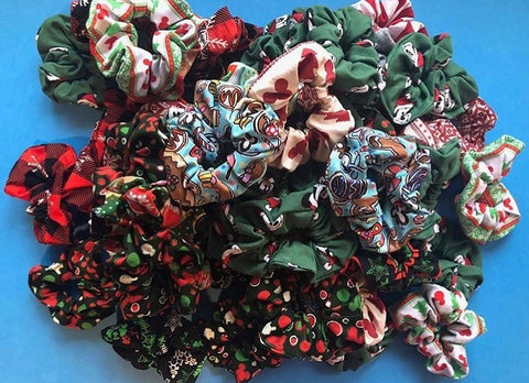 Christmas Grab Bag Scrunchie Bundle (3 Scrunchies)