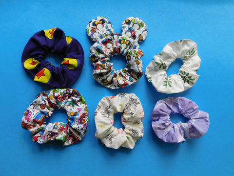 Add ears to any of our scrunchie listings