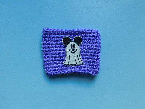 Mouse Ghost Coffee Cozy