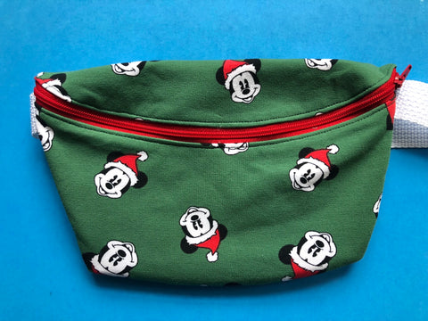 Mouse Santa Fanny Pack