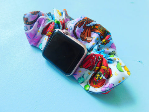 Custom Watch Band Scrunchie