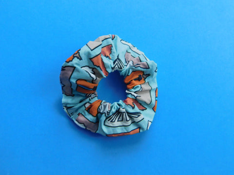 043. Mountain Madness Scrunchie