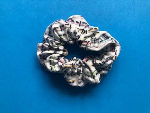 Highway in the Sky Scrunchie