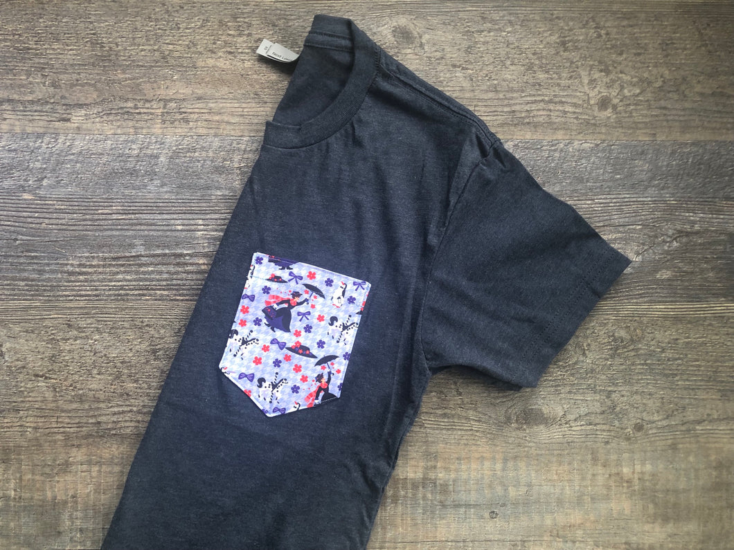 Practically Perfect Unisex Pocket Tee