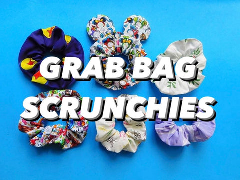 Grab Bag Scrunchie Bundle (3 Scrunchies)
