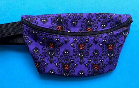 Mouse Spooky Estate Fanny Pack