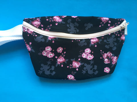 Hidden Mouse Flower and Garden Fanny Pack