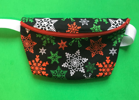 Mouse Snowflake Fanny Pack