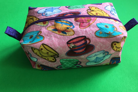 Princess Tea Party Make Up Bag