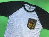 Hogwarts School Spirit Raglan Pocket Tee