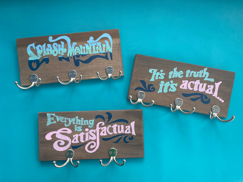 Satisfactual Splash Sign