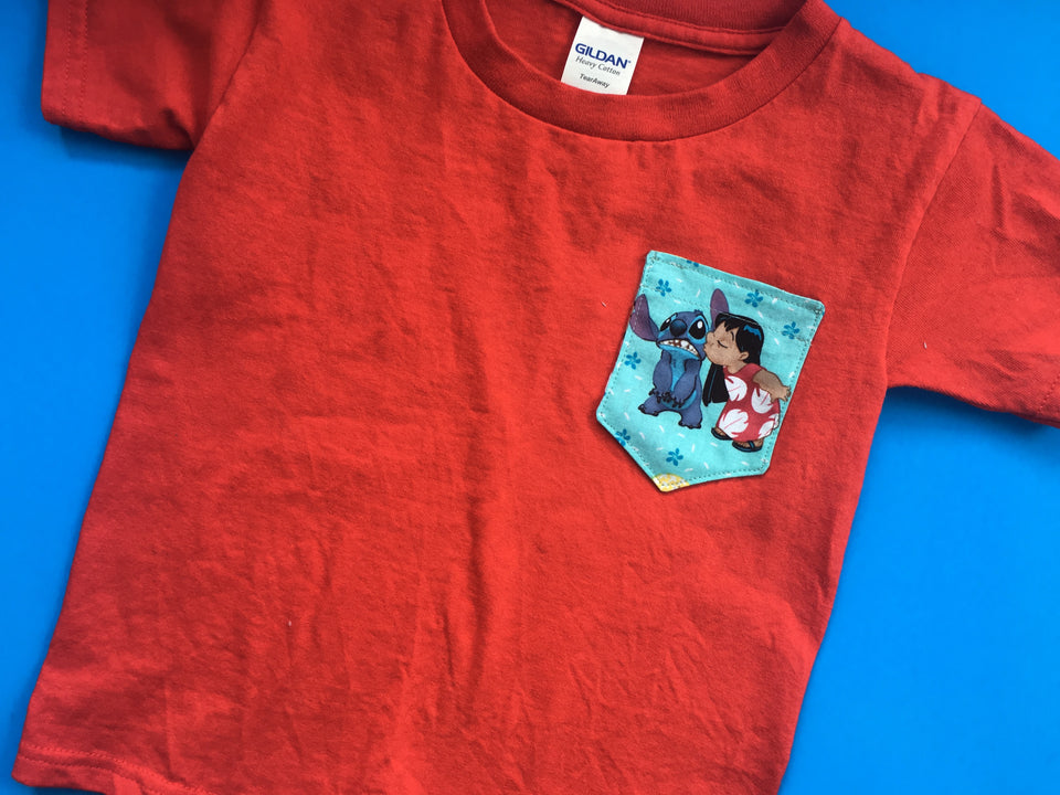 Kids Pocket Tees