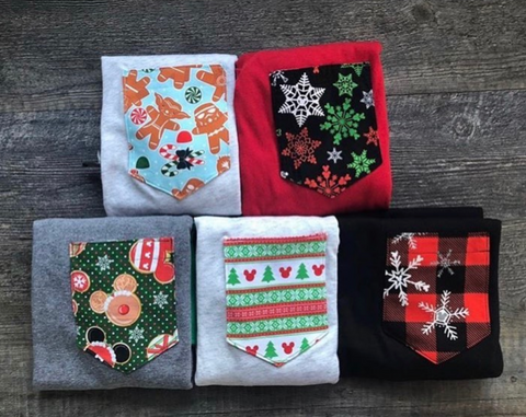 Christmas Grab Bag Pocket Tees