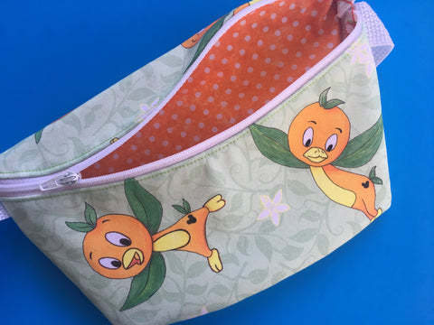 Orange Bird Fanny Pack