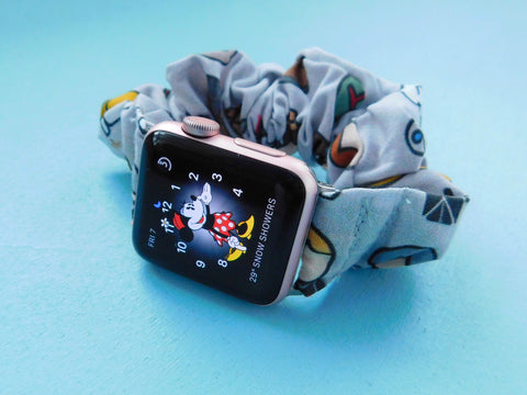 Galactic Wars Watch Band Scrunchie