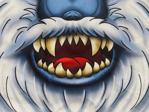 Character Cloth Mask - Abominable Snowman
