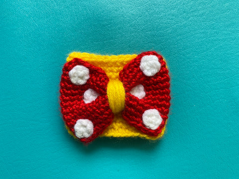 Ready to Ship Gryffindor Bow Coffee Cozy