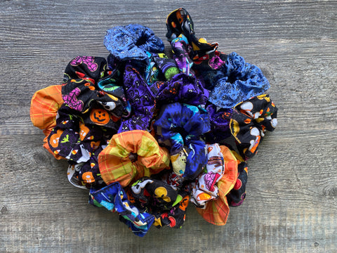 Fall Grab Bag Scrunchie Bundle (3 Scrunchies)