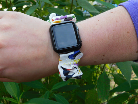 Park Watch Band Scrunchie