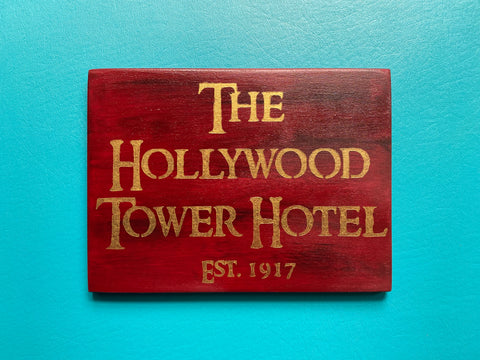 Hollywood Tower Hotel Sign