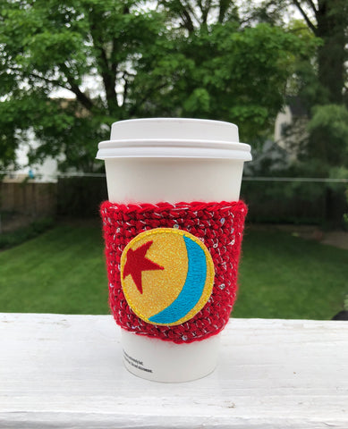 Red Star Ball Coffee Cozy