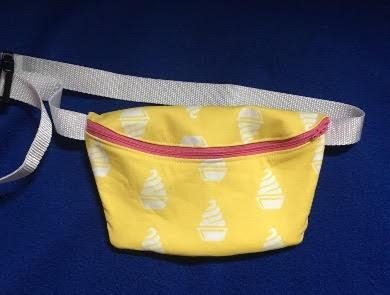 Pineapple Ice Cream Fanny Pack