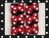 Rock the Dots Bow Coffee Cozy