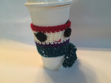 Tiny Mermaid Coffee Cozy