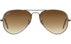 Ray-Ban RB3025L AVIATOR LARGE METAL (L)- 004/51