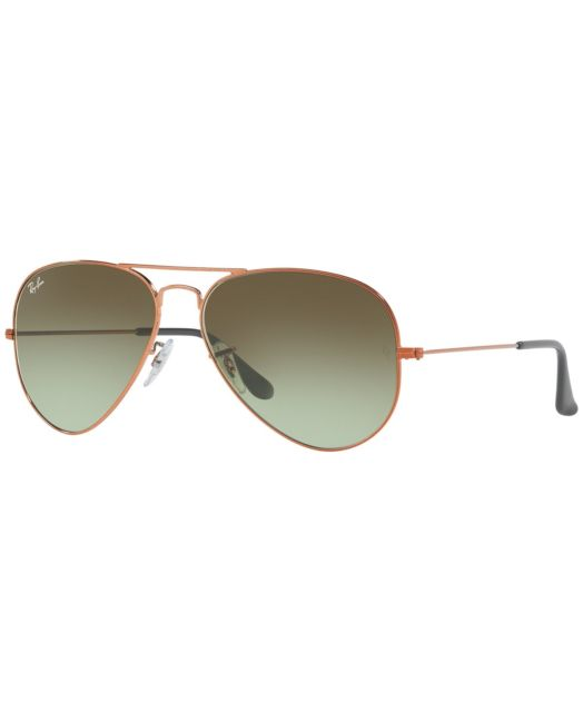 Ray-Ban 0RB3025L AVIATOR LARGE METAL (L)- 9002A6