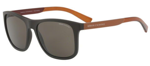 Óculos de Sol Armani Exchange Matte Brown - 4049SL/806273