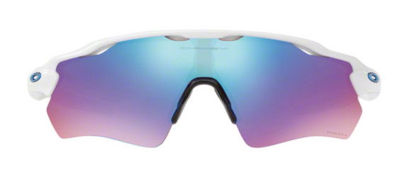Oakley Radar EV PATH Polished white lentes prizm sapphire snow - 920847