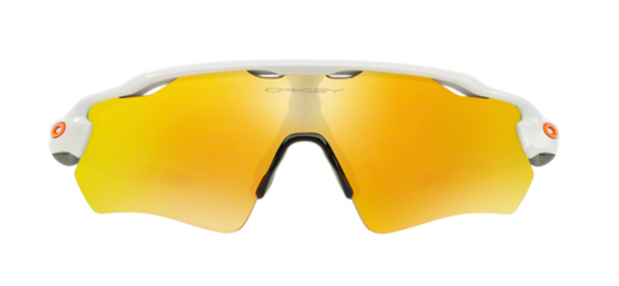 Oakley Radar EV PATH Polished White lentes fire iridium  - 920816