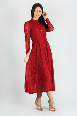 Alda Maxi Dress Red