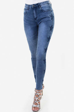 Star Denim Pants
