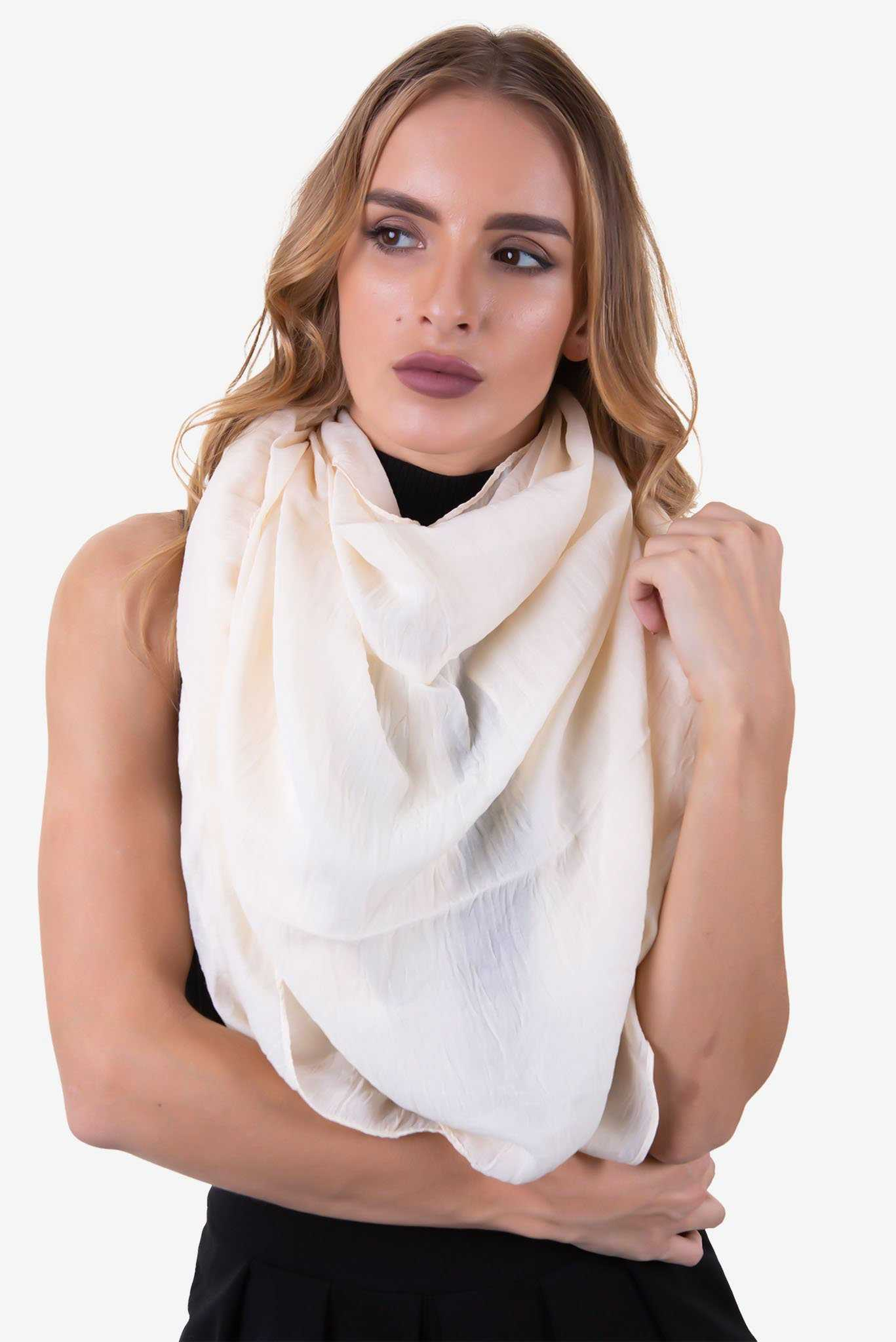 Scarf - Beige | Raw Orange
