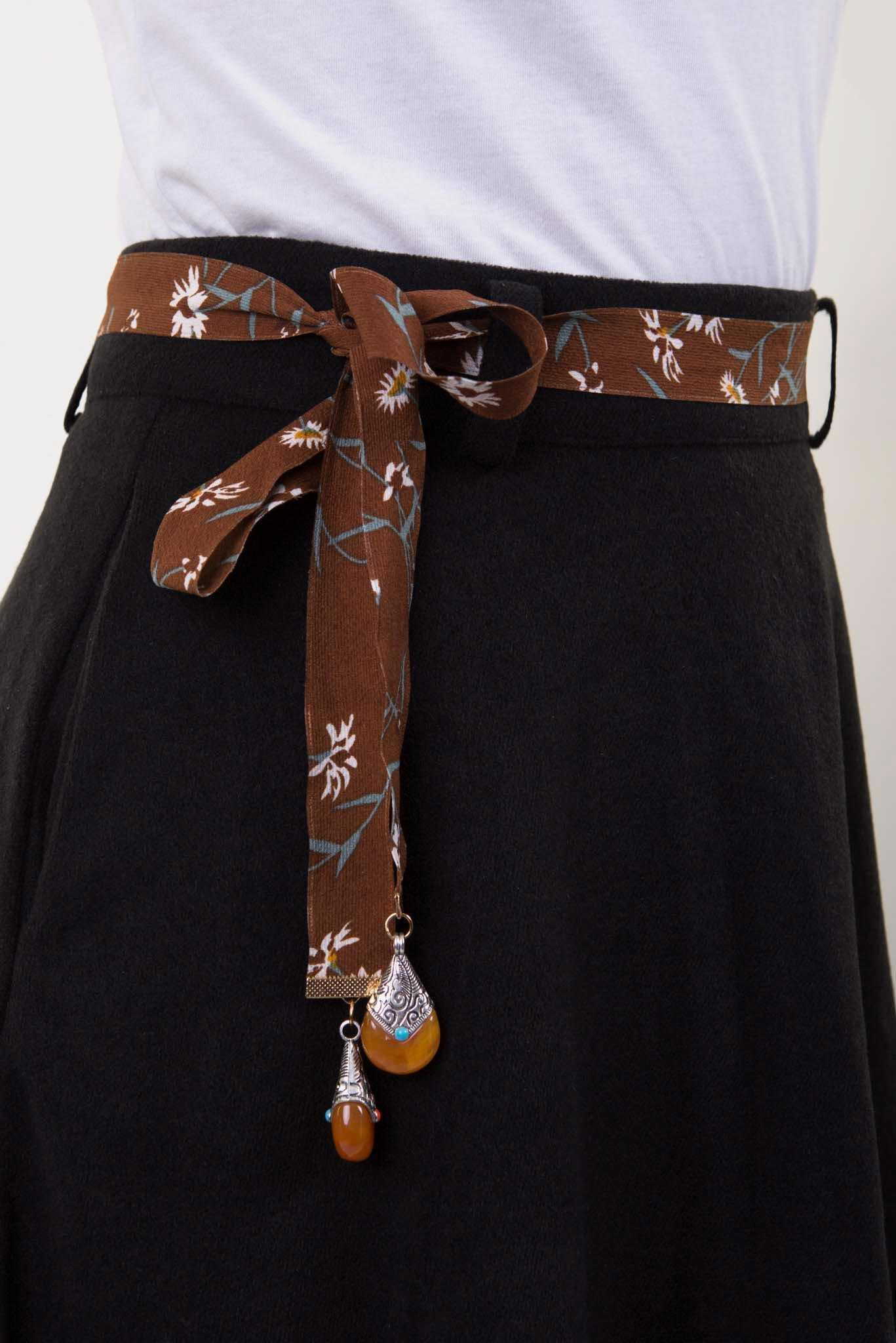 String Belt | Raw Orange