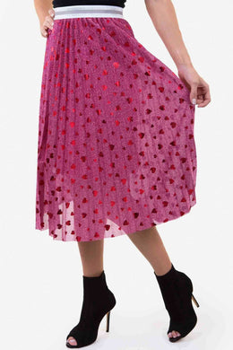 Tulle Heart Skirt