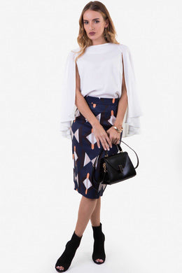 Midi Skirt Co-ord Set