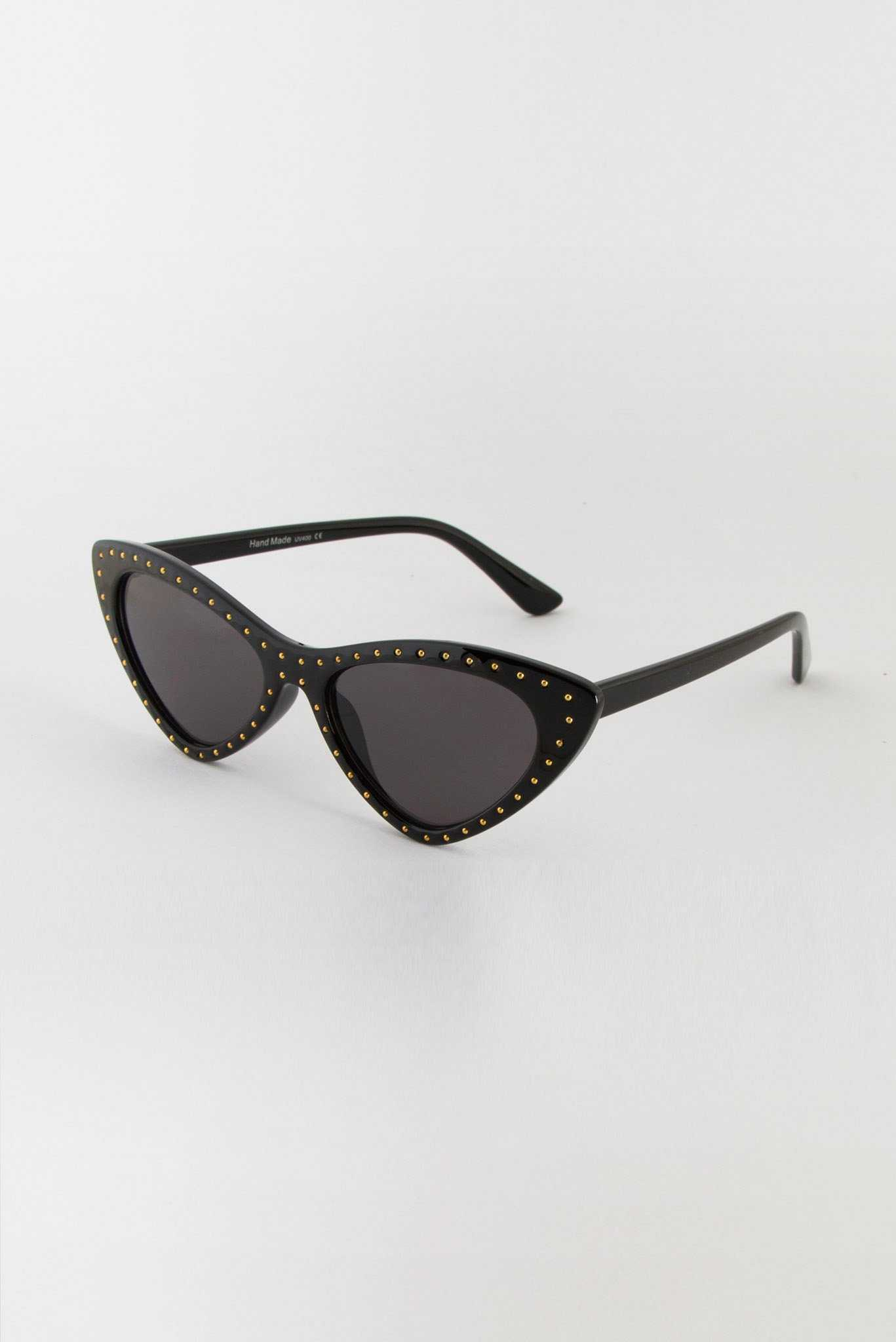 Gold Studs Sunglasses | Raw Orange