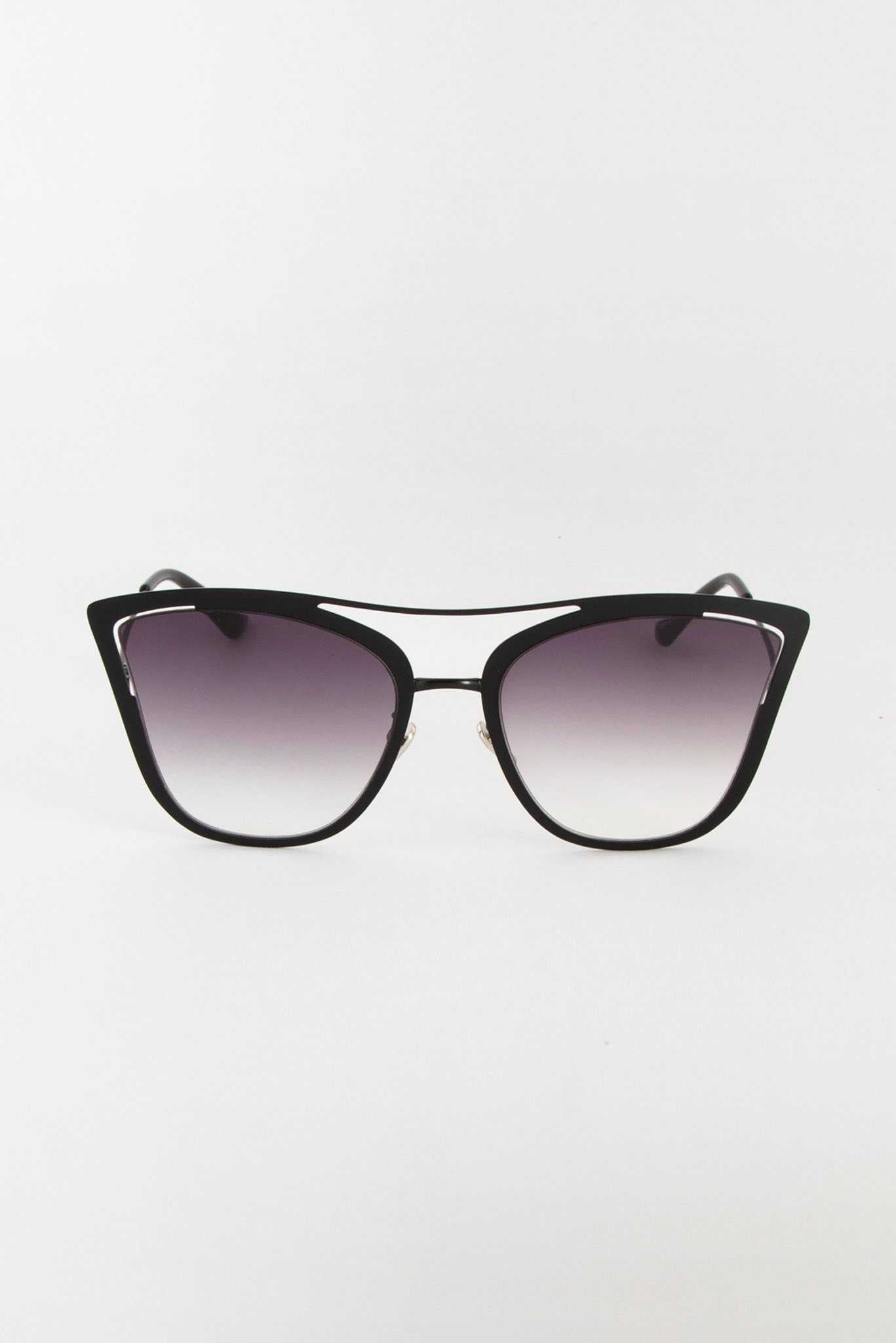 Black Butterfly Sunglasses | Raw Orange