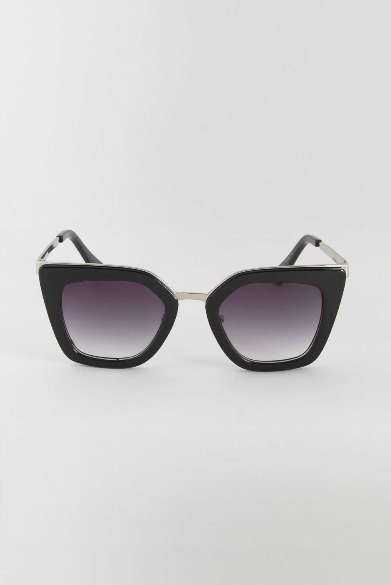 Round Cateye Sunglasses | Raw Orange