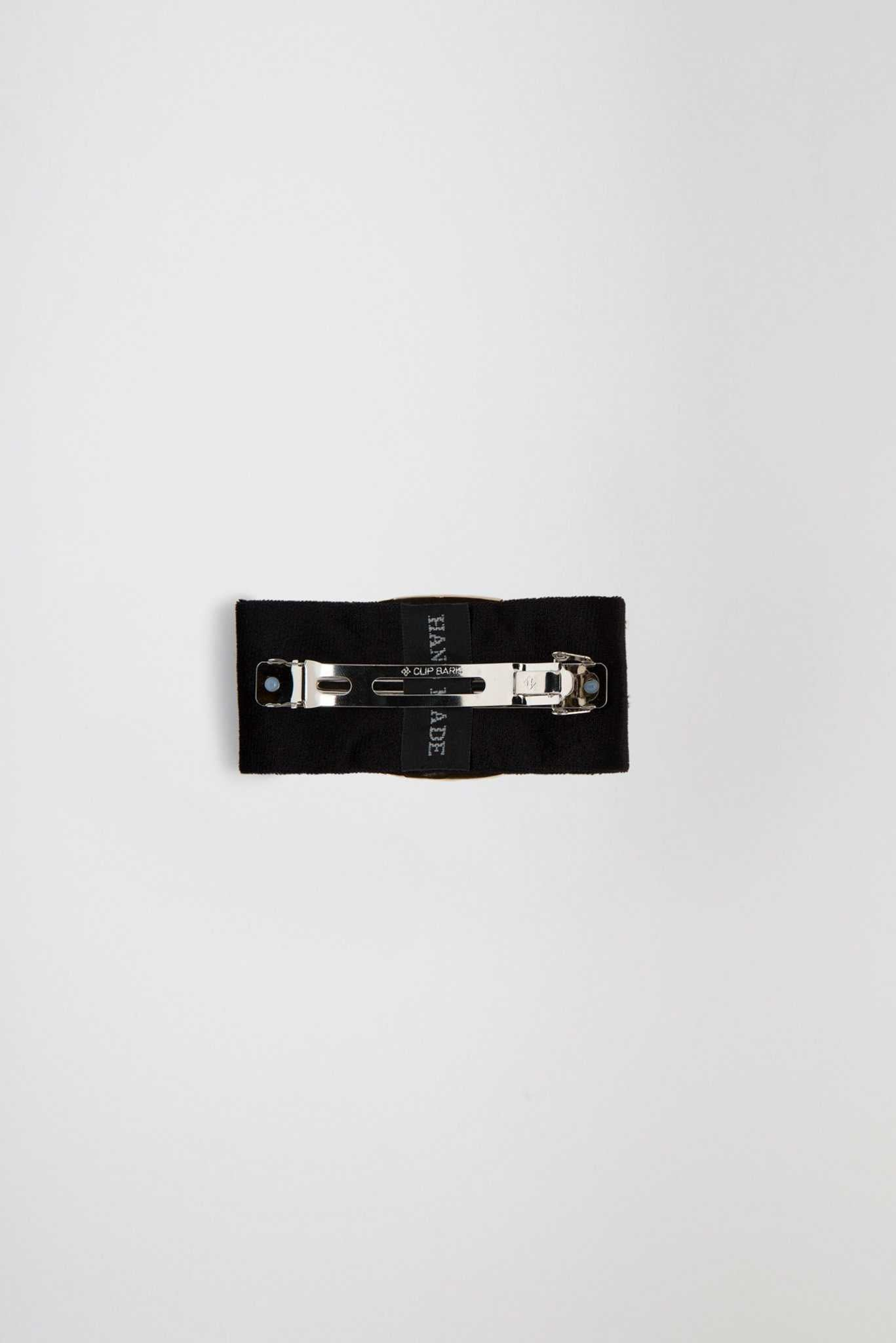 Hair Clip - Black | Raw Orange