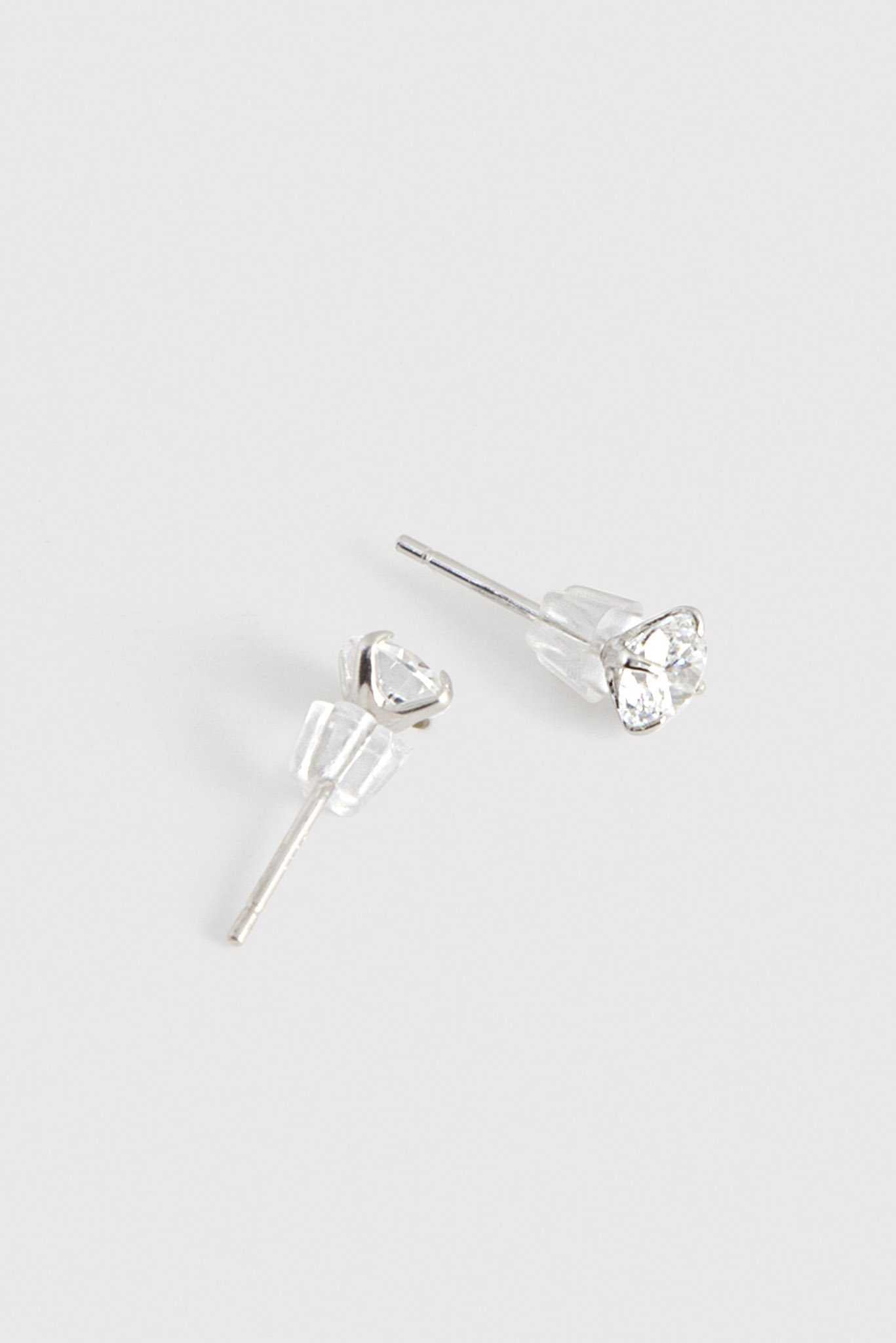 Rhinestone Studs | Raw Orange